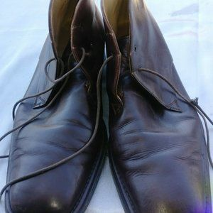 Men's Soft Leather Bally Ankle Boots Size 9.5